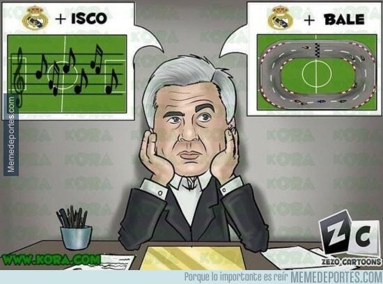 411266 - Así esta el dilema de Ancelotti en la media del Madrid