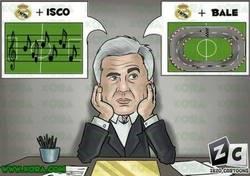 Enlace a Así esta el dilema de Ancelotti en la media del Madrid