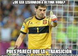 Enlace a Casillas parece que ''está de enhorabuena''