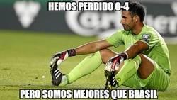 Enlace a Hemos perdido 0-4, o sea que somos mejores que Brasil