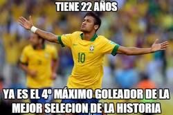 Enlace a ¿Será Neymar el máximo goleador de Brasil?