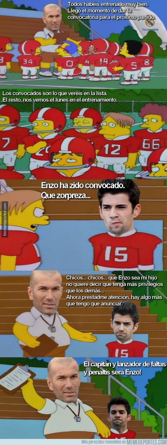 411830 - Primera convocatoria de Enzo Zidane con el Castilla