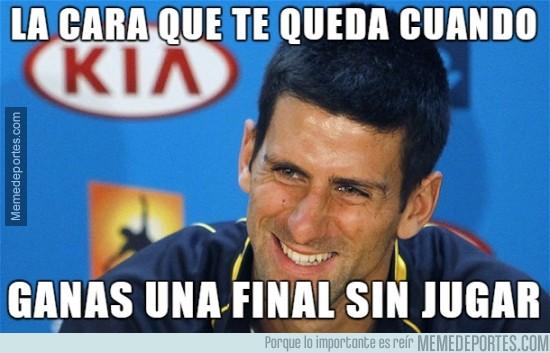 412039 - Djokovic, campeón sin jugar de la ATP World Tour Finals
