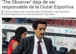 Enlace a The Observer deja de ser responsable de la Ciutat Esportiva