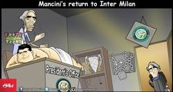 Enlace a Roberto Mancini vuelve al Inter, ¿volverá a ser un top europeo?
