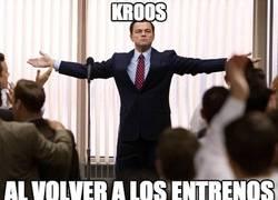Enlace a Kroos llegando con la cabeza bien alta