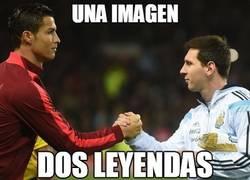 Enlace a Una imagen, dos leyendas