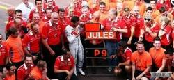 Enlace a ¡Jules Bianchi sale del coma inducido! #KeepFightingJules