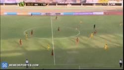 Enlace a GIF: Increíble golazo de Wakaso ante Togo que mete a Ghana en la Copa África