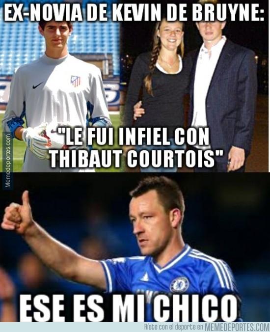 413106 - Courtois aprendiendo rápido de Terry en el Chelsea