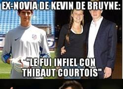 Enlace a Courtois aprendiendo rápido de Terry en el Chelsea