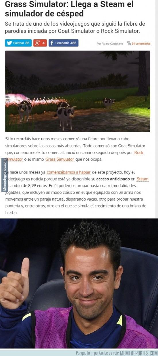 413157 - El juego favorito de Xavi Hernández