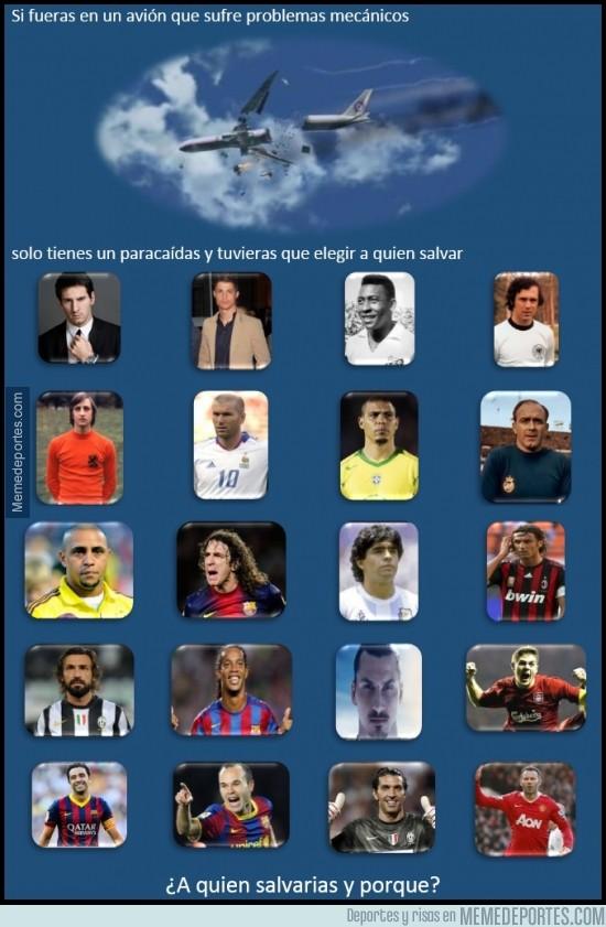 413245 - Y tú, ¿a quién salvarías de todos estos en un accidente aéreo?