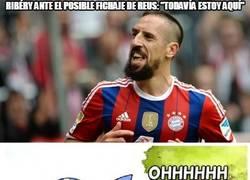 Enlace a Ribéry ante el posible fichaje de Reus: