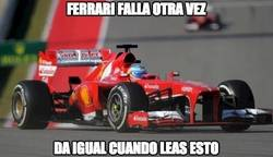 Enlace a Ferrari falla otra vez