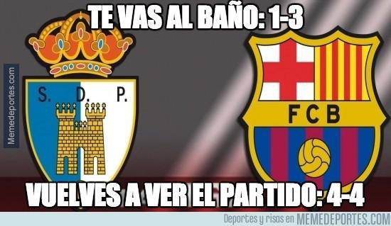 413808 - Locura de remontada en el Ponferradina - Barça B