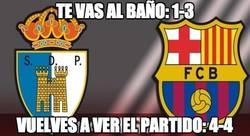 Enlace a Locura de remontada en el Ponferradina - Barça B