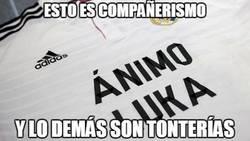 Enlace a Gran gesto del Real Madrid a Lukita