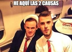 Enlace a De Gea y Rooney, los puntales del Manchester United