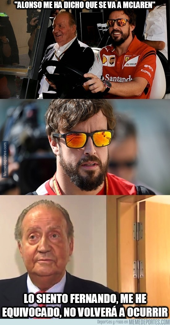 414409 - Juanca la vuelve a liar. Alonso a McLaren