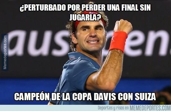 414524 - Federer hace historia