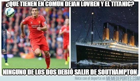 414576 - ¿Qué tienen en común Dejan Lovren y el Titanic?