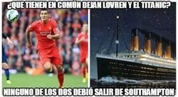 Enlace a ¿Qué tienen en común Dejan Lovren y el Titanic?