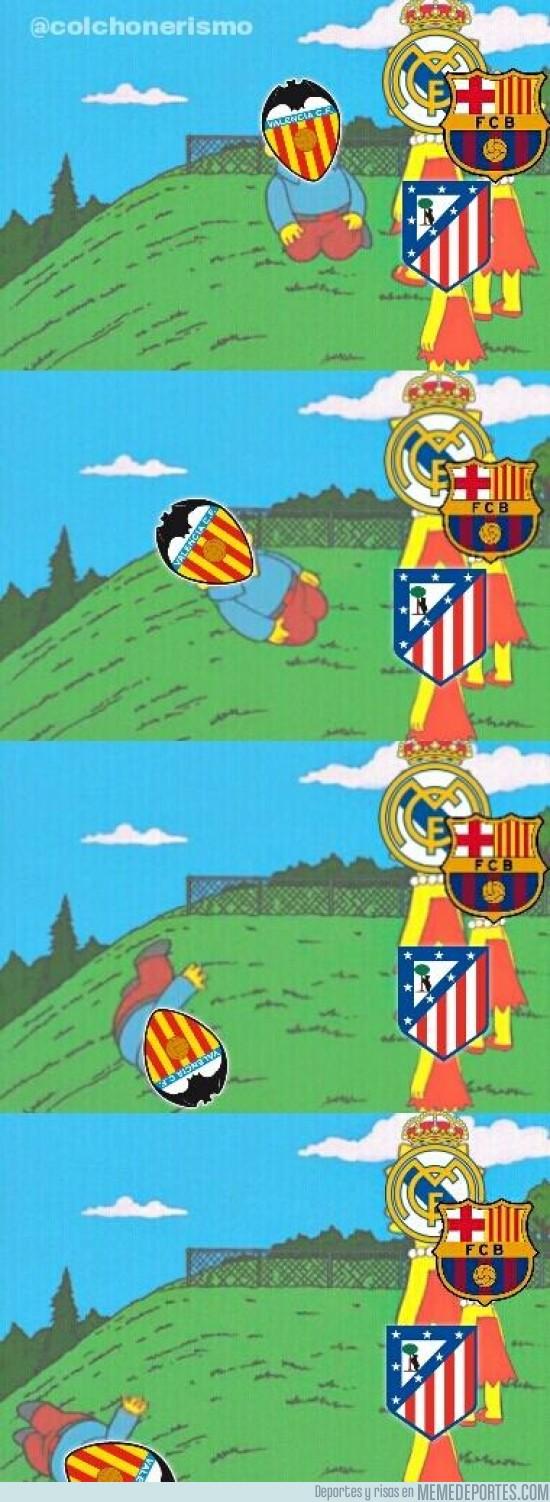 414703 - El Valencia se descuelga de la liga