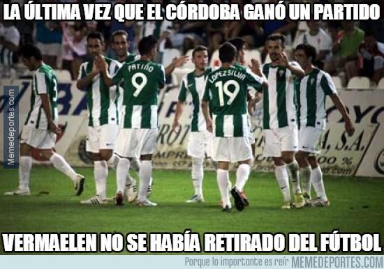 414718 - La última vez que el Córdoba ganó un partido