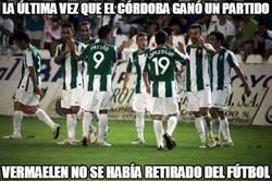 Enlace a La última vez que el Córdoba ganó un partido