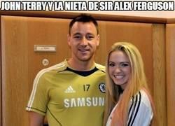 Enlace a John Terry y la nieta de Sir Alex Ferguson