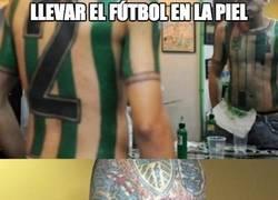 Enlace a Esto es llevar el fútbol en la piel