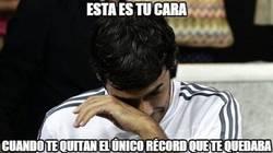 Enlace a La cara de Raúl al ver el gol de Messi ante el Apoel