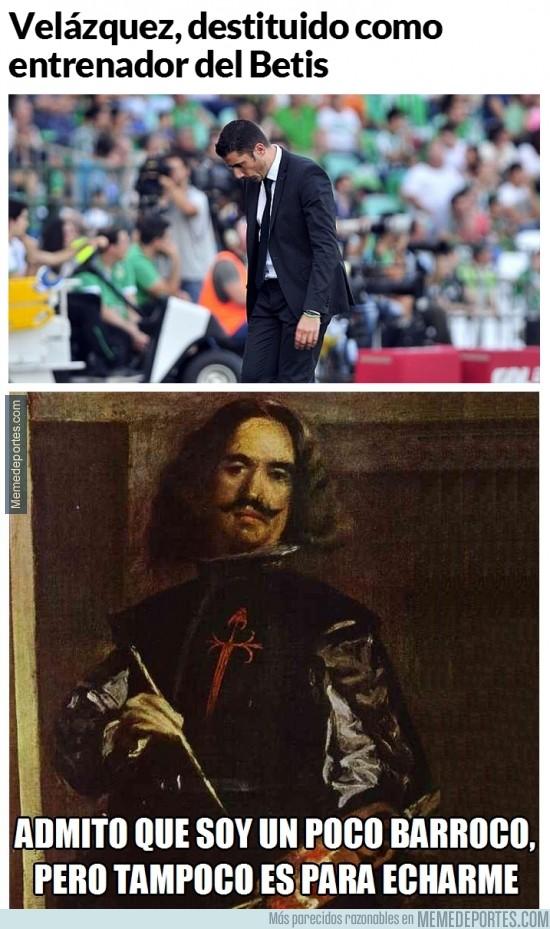 415779 - Velázquez indignado con su salida del Betis
