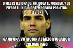 Enlace a Falcao, vigente en los corazones de los colombianos