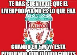 Enlace a El Liverpool ya no es lo que era