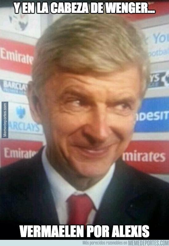 416007 - Alexis vuelve a marcar y en la cabeza de Wenger...