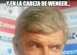Enlace a Alexis vuelve a marcar y en la cabeza de Wenger...