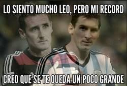 Enlace a La selección... el talón de aquiles de Messi