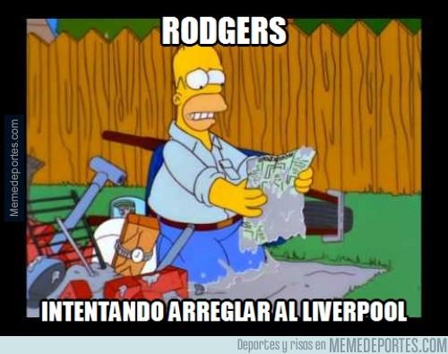 416239 - Rodgers no se come el turrón en Liverpool