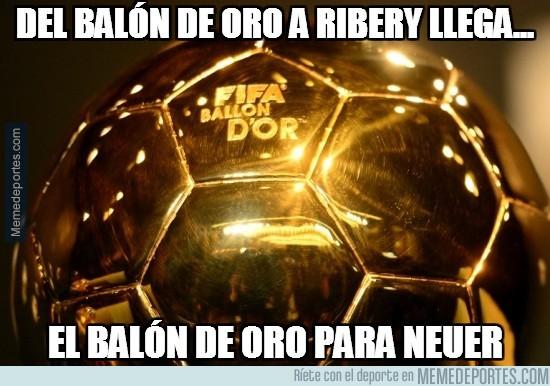 416467 - Del balón de oro a Ribery llega...