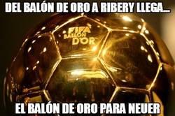 Enlace a Del balón de oro a Ribery llega...