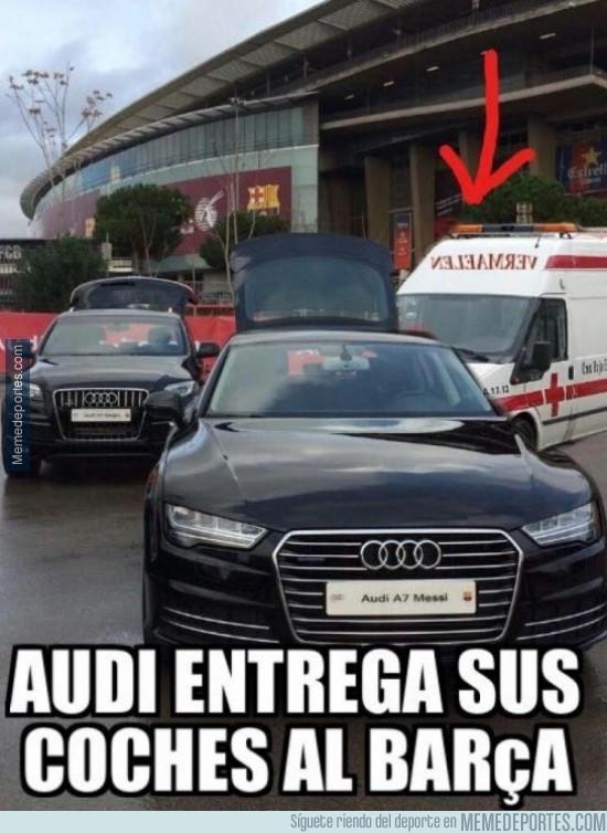 416506 - Audi entrega sus coches al Barça