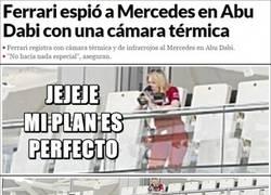 Enlace a Ferrari espía secretísimamente a Mercedes