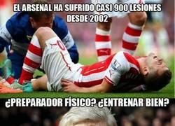 Enlace a El Arsenal es el equipo que más lesiones ha sufrido en los últimos 12 años