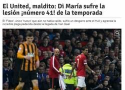 Enlace a El United se une al club de los lesionados