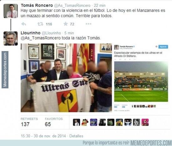 417200 - Tomás Roncero vuelve a quedar en evidencia