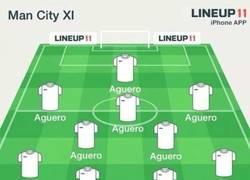 Enlace a Con la lesión de Agüero, todo el Manchester City es el que está lesionado