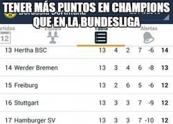 Enlace a Tener más puntos en Champions que en la Bundesliga