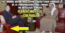 Enlace a Florentino lo hizo, aquí las pruebas